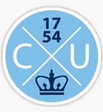 Columbia University Circle Sticker