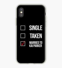 Single, Taken, Married to Kai Parker-- White iPhone Case