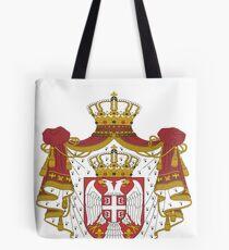 Serbia National Football Fan Jersey Design Tote Bag