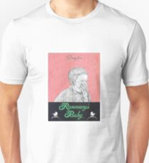 ROSEMARYS BABY hand drawn movie poster in pencil T-Shirt