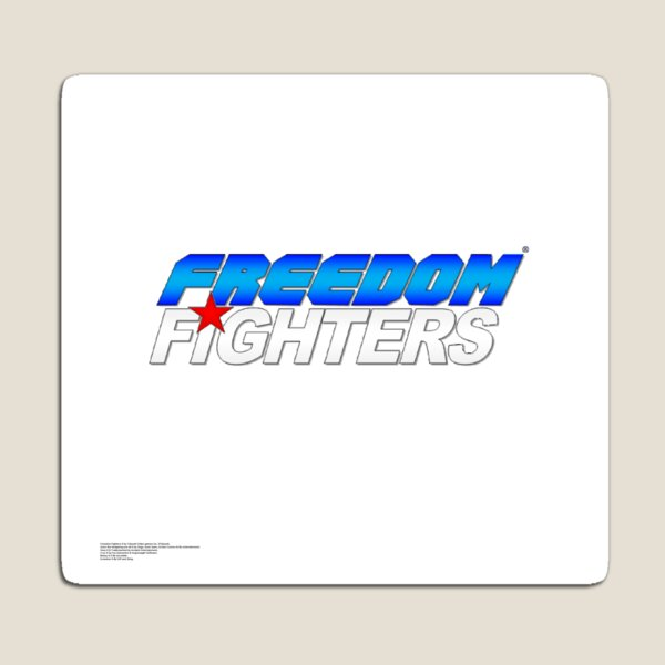 Original Freedom Fighters logo Magnet