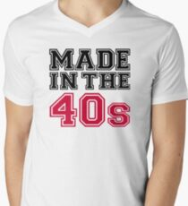 Made in the 40s Men's V-Neck T-Shirt