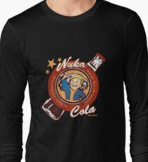 Fallout nuka cola logo featuring Vaultboy Long Sleeve T-Shirt