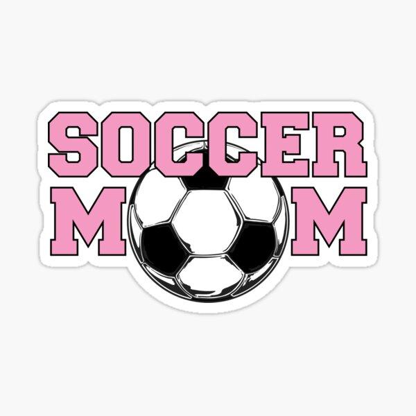 Soccer Mom Pink Sticker