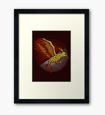 Catching the Fire Framed Print