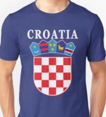 Croatia Deluxe Football Jersey Design Unisex T-Shirt