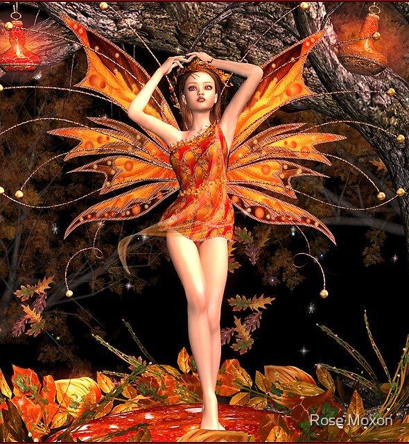 Autumn Enchantment by Rose Moxon