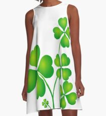 SHAMROCKS A-Line Dress