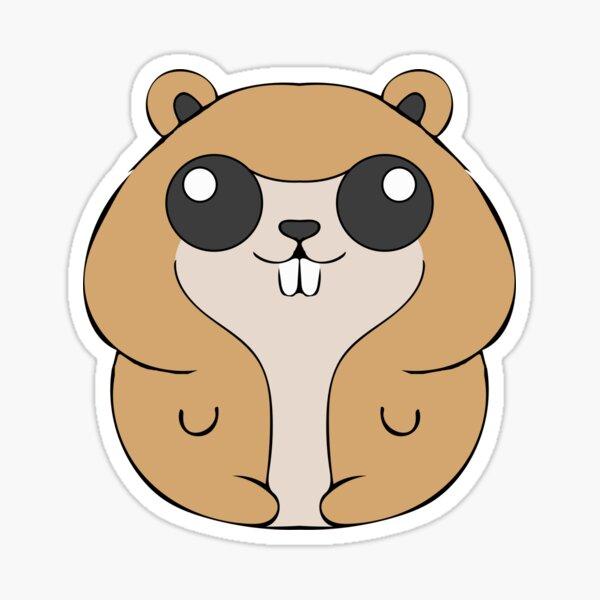 Katy Perry Oblivia Hamster Sticker