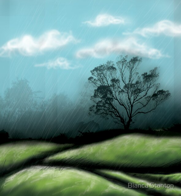 Rain by marbia