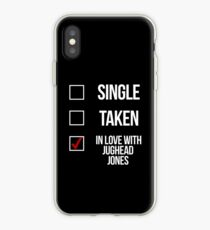 Single, Taken, In love with Jughead Jones-- White iPhone Case