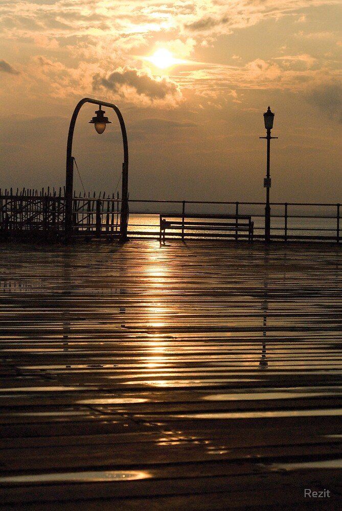 South End sunset by Rezit