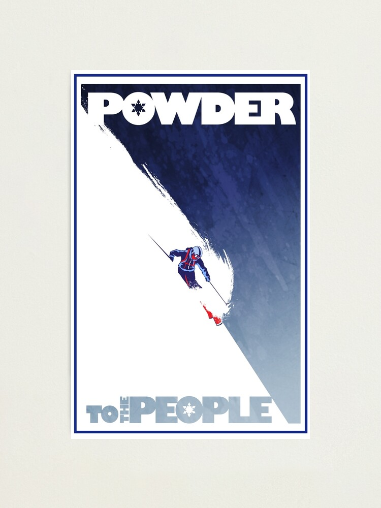 Alternate view of Powder to the People Photographic Print