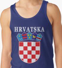 Croatia Hrvatska Deluxe National Jersey Tank Top