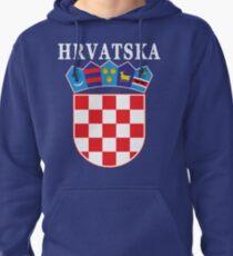 Croatia Hrvatska Deluxe National Jersey Pullover Hoodie
