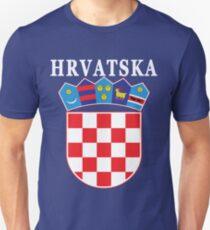 Croatia Hrvatska Deluxe National Jersey Unisex T-Shirt