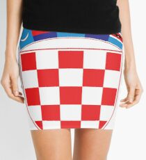 Croatia Hrvatska Deluxe National Jersey Mini Skirt