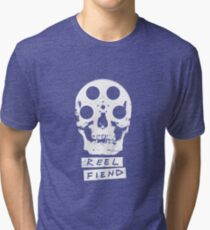 Reel Fiend Tri-blend T-Shirt