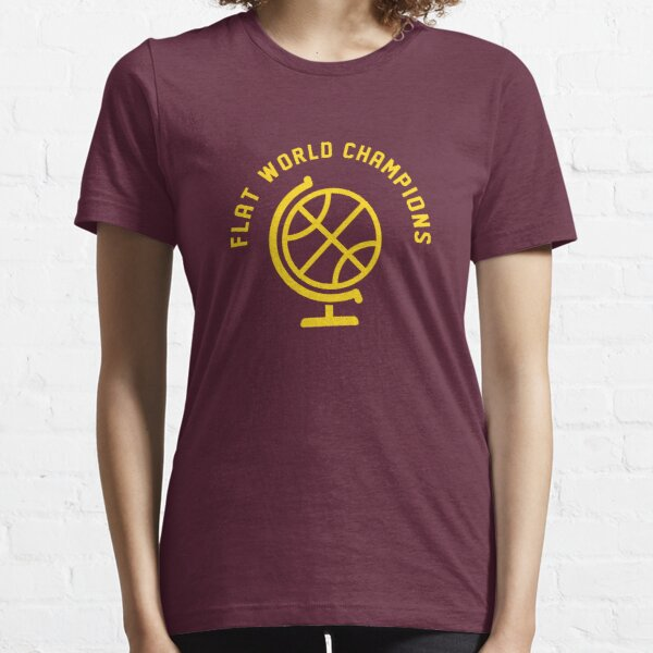 Flat World Champions Essential T-Shirt