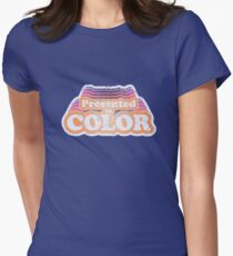 Presented in Color Women's Fitted T-Shirt