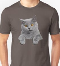 British Shorthair Cat Unisex T-Shirt