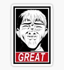 GREAT Sticker