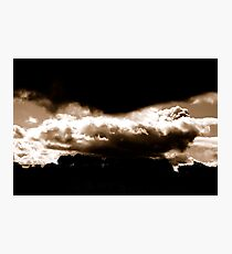 WEATHER WARNING... Photographic Print