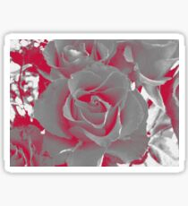 Duotone Rose Sticker