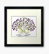 50 Figs on Tree Framed Print