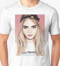 Cara Delevingne Unisex T-Shirt