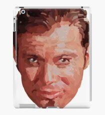 Captain Kirk Portrait - Rough iPad Case/Skin