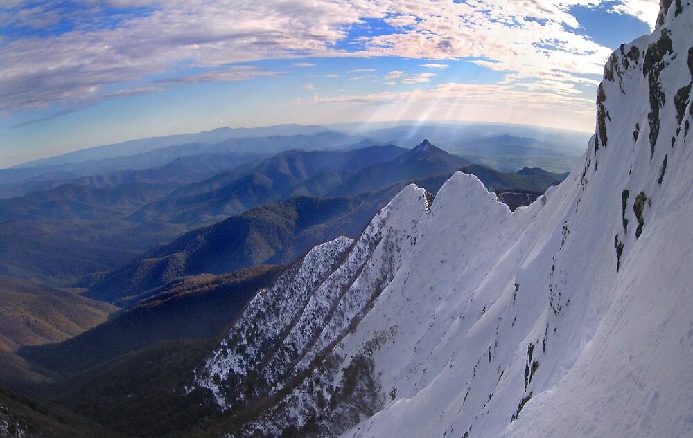Moonlight Ridge Panorama, Mount Buller by Craig Mitchell