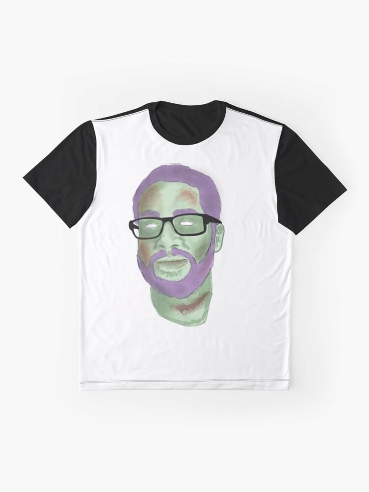 Alternative Ansicht von Zombie Ryan Grafik T-Shirt