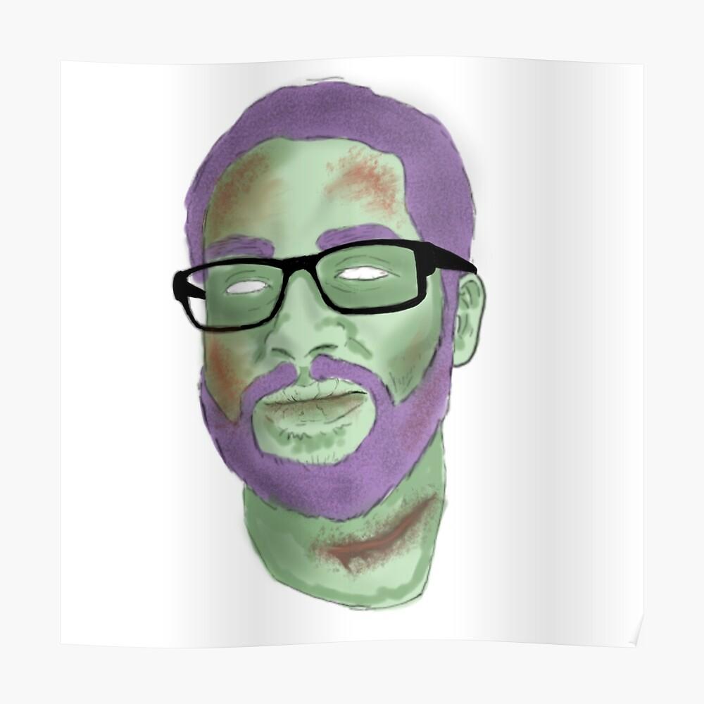 Zombie Ryan Poster