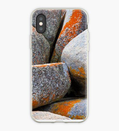 Granite Boulders, Bay of Fires, Tasmania iPhone Case