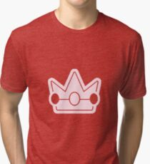 Princess Peach's Crown Tri-blend T-Shirt