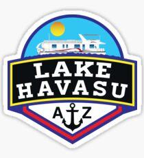 LAKE HAVASU ARIZONA BOATING WATER SPORTS SKIING BOAT FISHING TUBING HOUSEBOAT 2 Sticker