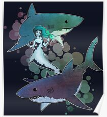 Great Whites Poster