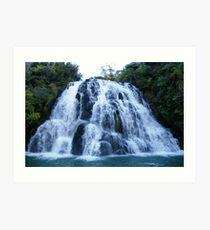Waterfall Wonder Art Print