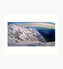 Frenchmans Panorama, Mt Buller Art Print