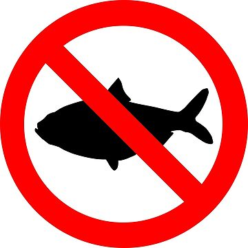No Fish Allowed by jaybill
