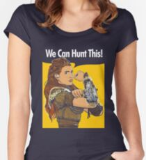 We Can Hunt This Women's Fitted Scoop T-Shirt