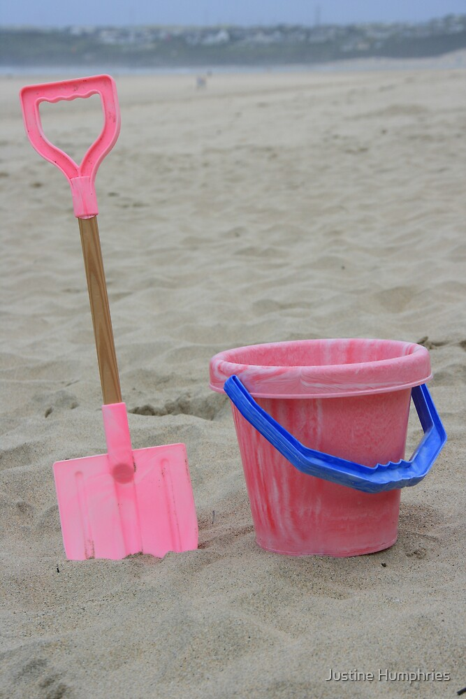 Buckets & Spades by Justine Humphries