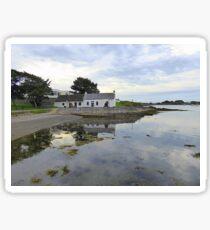 Cottage By The Water.................................N Ireland Sticker