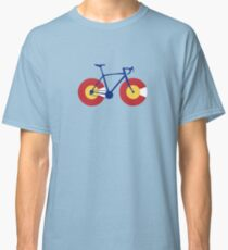 Colorado Flag Bicycle Classic T-Shirt