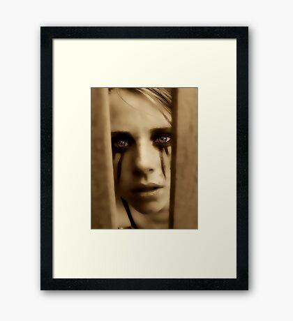 darkthemes series Framed Print
