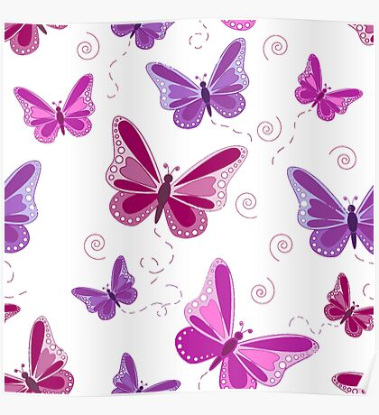 Beatiful butterfly Poster
