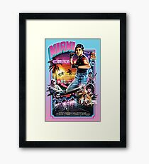 Miami Connection Framed Print