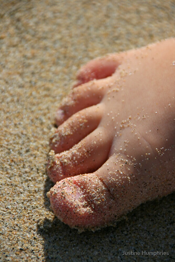 Sandy Toes by Justine Humphries