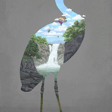 Cranescape by filgouvea